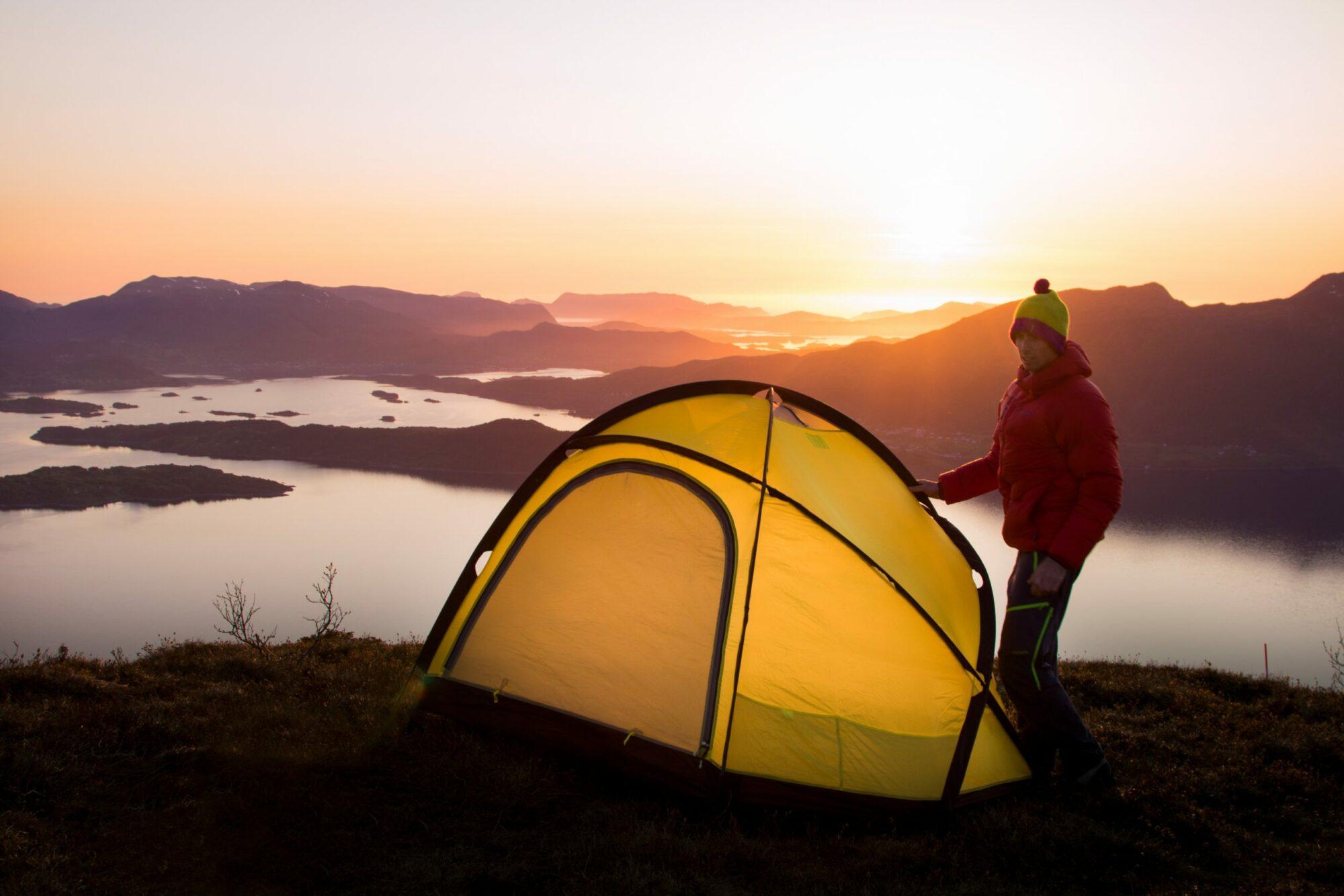 7 teltutsikter i Sunnmørsalpane Oppdag Sunnmøre