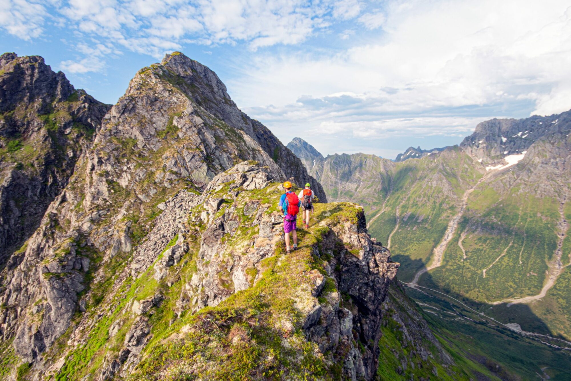 Ei fin og luftig fjellegg, slik som vi likar det.