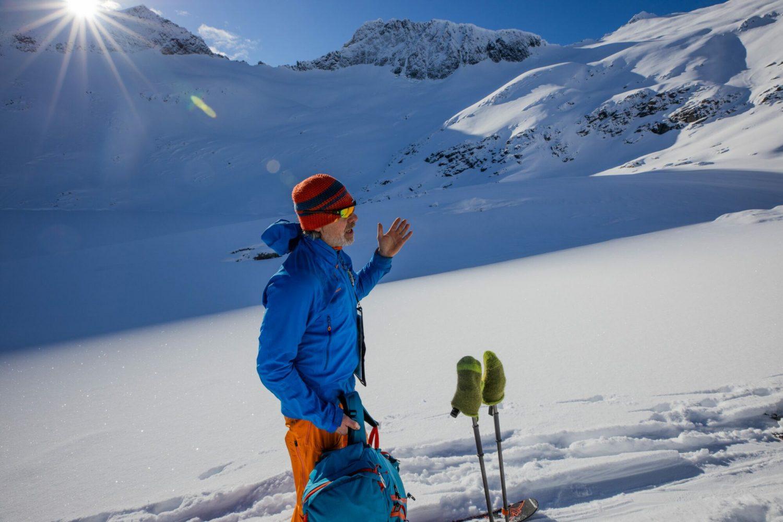Guiden vår fortel om skredproblematikk og korleis vi skal legge skisporet.