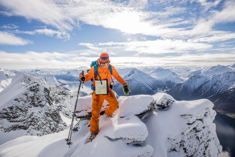 Guide frå Hjørundfjord Mountain Guide.