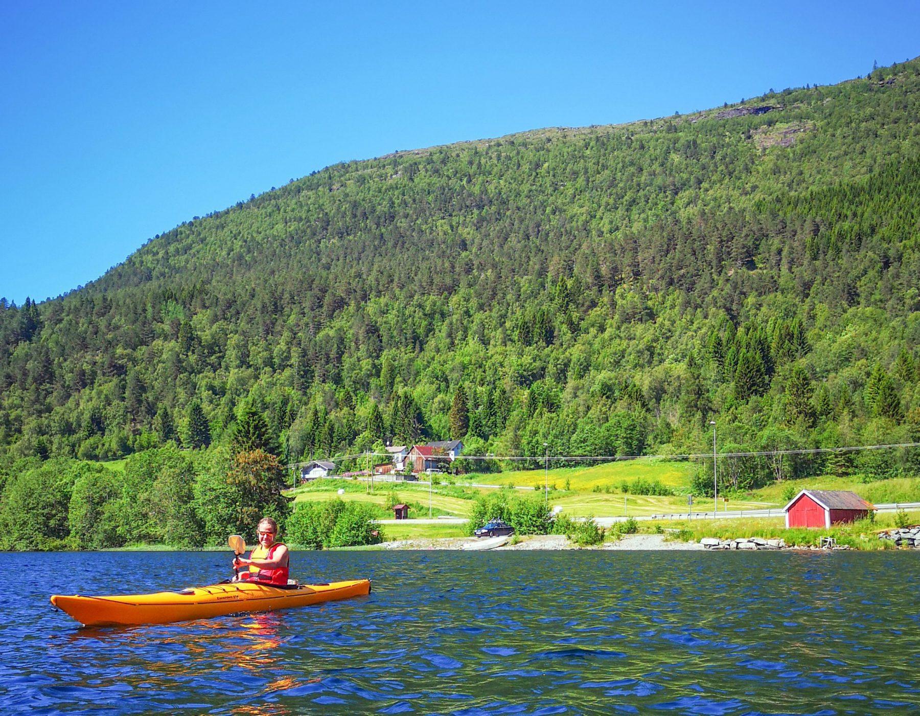 Storevatnet, Bulingen og Eidsvatnet, i Volda kommune.